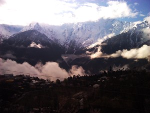 view from hotel apple pie ( hotels in kalpa)