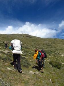 lalanti climb in kinner kailash trek