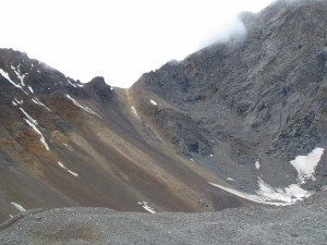 the famous pass that is one of the last stages of the kinner kailash trek
