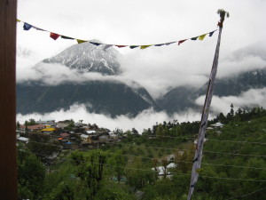 another view from hotel apple pie- hotels in kalpa