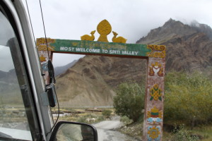 entrance to spiti ( lahaul and spiti)