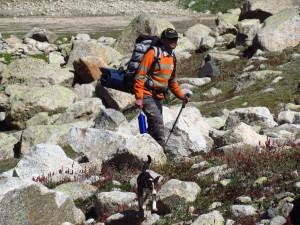(trekking in indian himalayas)