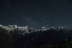 Kalpa Night view